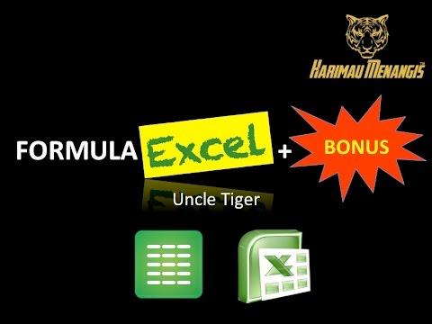 Formula Excel Malaysia