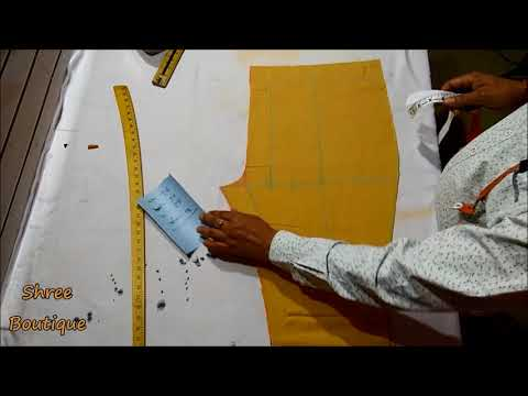 Palazzo Pant Cutting and Stitching Very Easy Method in Hindi.