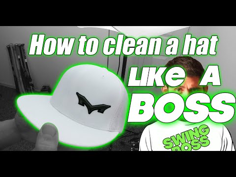 How to clean a hat LIKE A BOSS | SWING BOSS