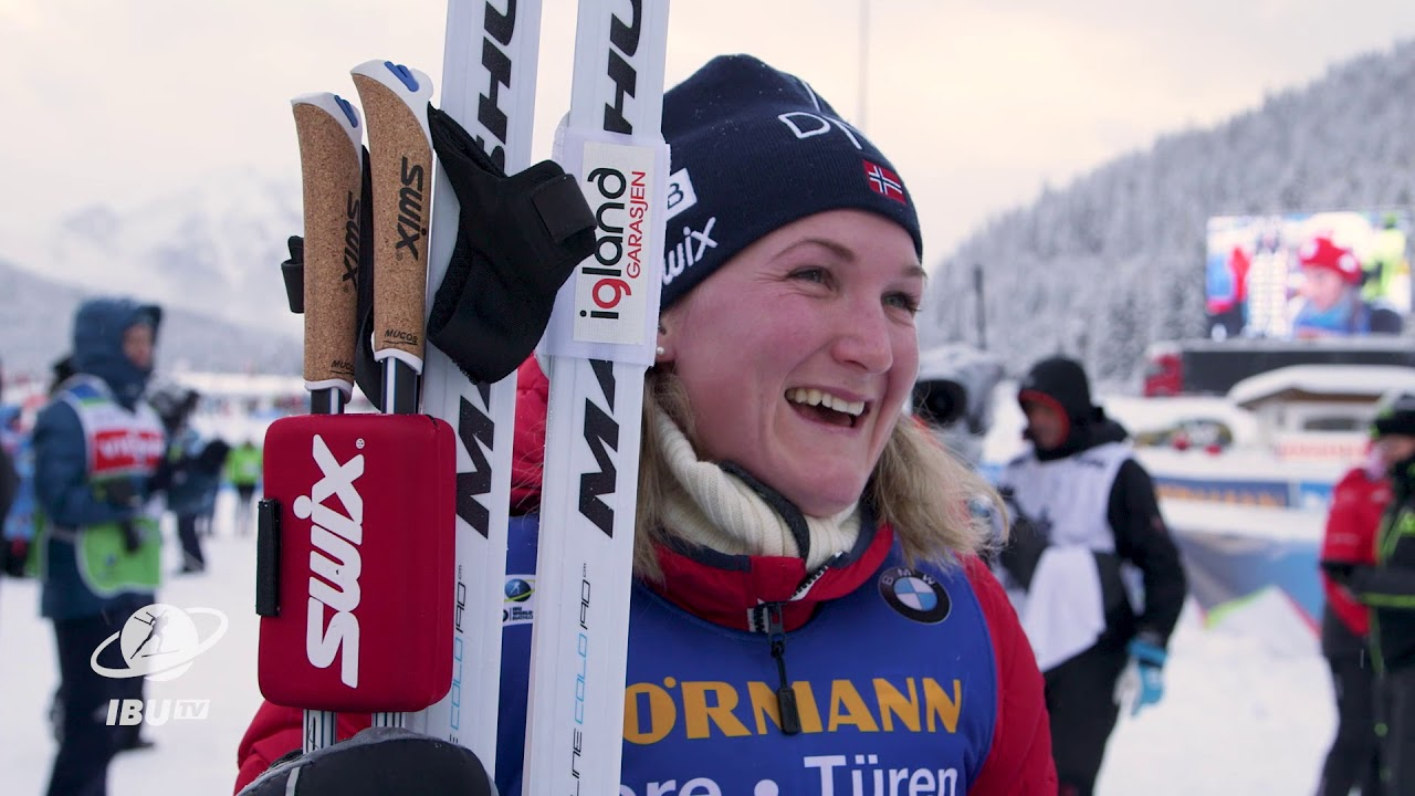 #HOC17 Marte Olsbu happy with 5th place in pursuit