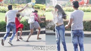 Snow Spray Prank On Girls by Funk You (Pranks In India)