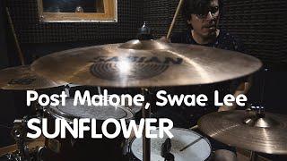 Download ☼ Sunflower ✿ - Post Malone, Swae Lee ► Kunturi Drums [Drum Cover] ♪♪ Video