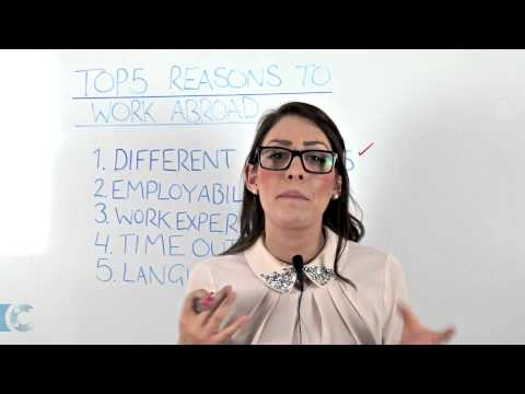 The Top 5 Reasons to Work Abroad