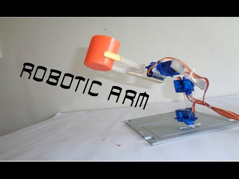 How to make Micro Servo Robotic arm arduino based simple DIY