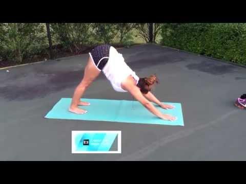 Persian Girl Doing Yoga