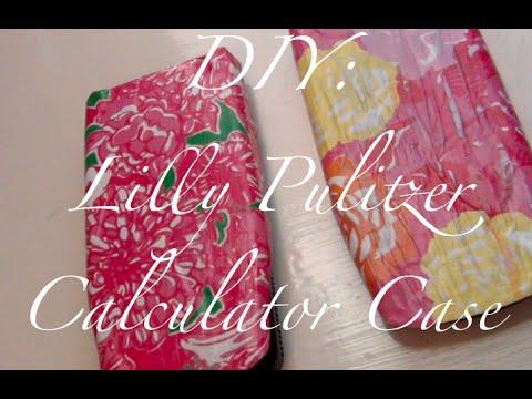 DIY: Lilly Pulitzer Calculator