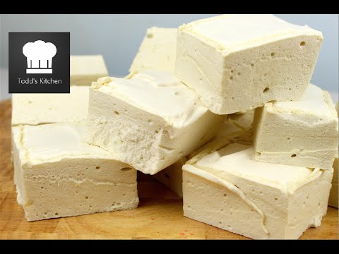 MAPLE SYRUP MARSHMALLOWS - Video Recipe