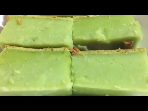 BAKED PANDAN CAKE