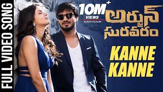 Kanne Kanne Full video Song - Arjun Suravaram - Nikhil, Lavanya   T Santhosh   Sam C S
