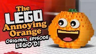 The Lego Annoying Orange (Original Episode Lego