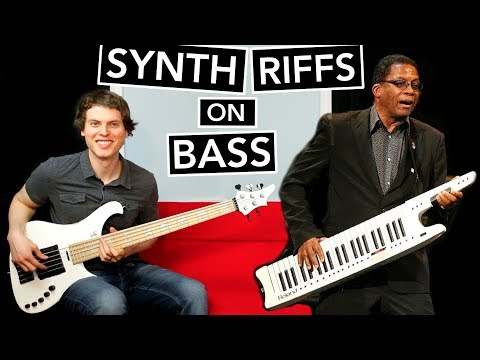10 Classic Synth Riffs on Bass Guitar