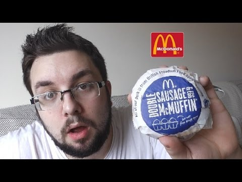 Double Sausage McMuffin Review (McDonalds)
