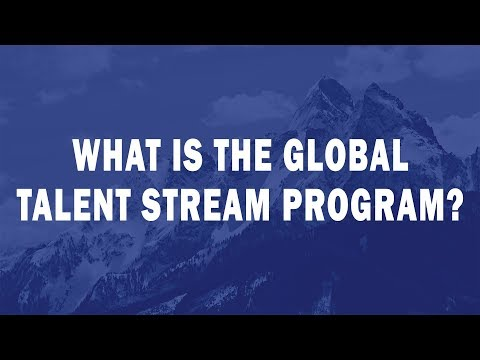 What is the Global Talent Stream Program?