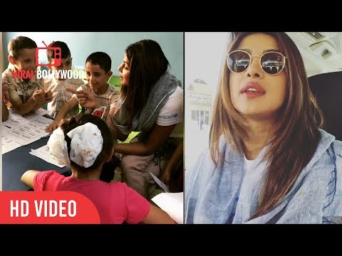 Priyanka Chopra A Day In Amman, Jordan | Viralbollywood