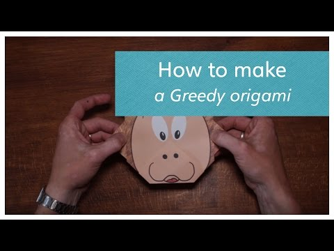 How to make an origami Greedy