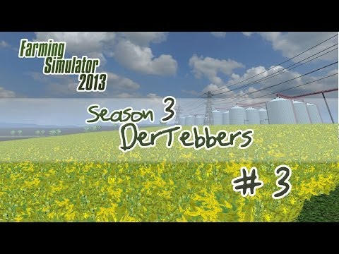 Farming Simulator 2013 - S3E3 Part 1 - Our First Soybean Harvest