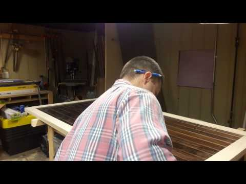 Building Double Barn Doors: Assembly