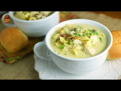 Egg Noodles with Chicken Soup Recipe