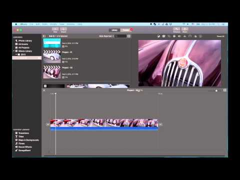 iMovie 2015 Q&A: Edit Two Projects at Once