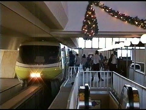 Monorail Tour Epcot '94 and Resort Hotels ❄ Walt Disney World ❄ November 1994