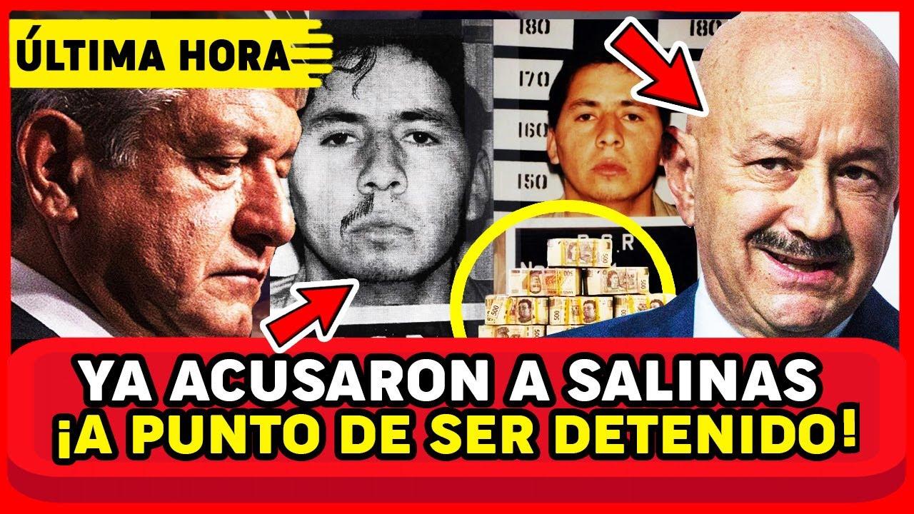 DESPUÉS DE 26 AÑOS RECLUS0 DECLARÓ ANTE EL JUEZ! SALINAS ES CULPABLE AMLO Y MEXICO EN SH0CK