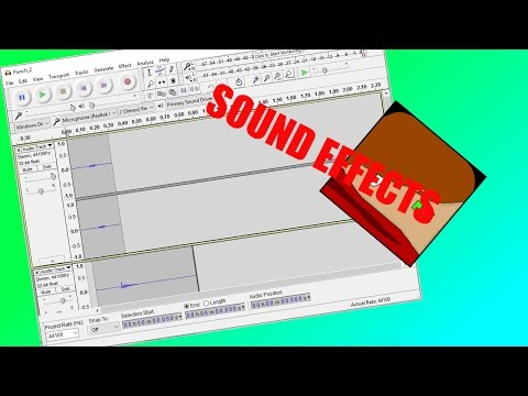 How to make sound effects for free in Audacity (Punch sound effect)