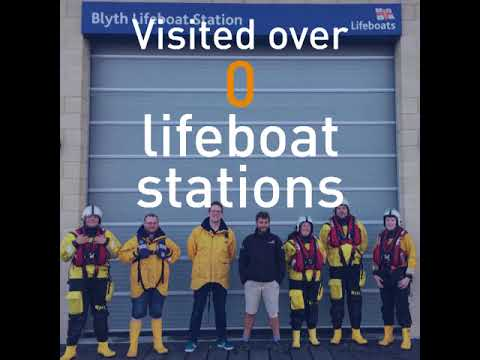 Alex Ellis-Roswell walks 9500 miles to raise money for the RNLI