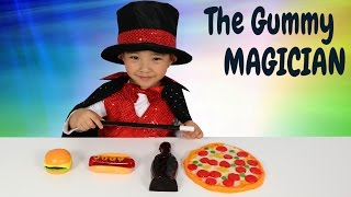 The Gummy Magician Turning Gummy Candy Into Giant Gummy Kids Magic Show Ckn Toys