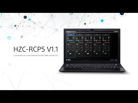 PC-RCP (HZC-RCP5) Remote Control Software for HXC-FB80