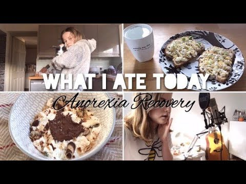 What I Ate Today (Anorexia Recovery) // Vlog 🥄 | Emily's Recovery