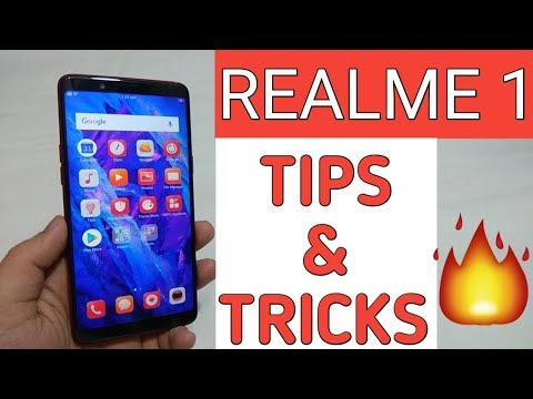 OPPO Realme 1 Tips & Tricks,Features | Color 5.0 Features🔥🔥