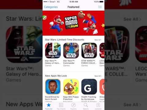 Get/install Super Mario Run iOS 8/9/10-10.2 Free No jailbreak without Cydia on iPhone iPad iPod