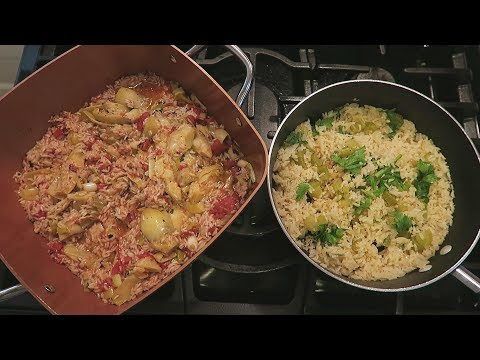 Angelo's Mom Makes Lemon Rice Pilaf & Rice w Artichoke Hearts