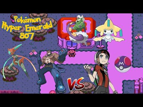 Pokémon Hyper Emerald : #10 Vs. Matt, Capturando Jirachi, Tornadus, Deoxys Speed Form!!
