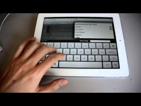 The new ipad buzzing sound when typing