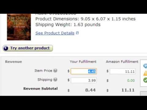 Profit Margin for FBA Items Vs. Merchant Fulfilled Items