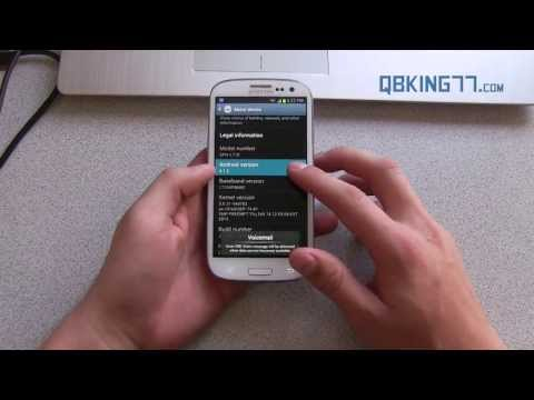 Manually Install Official Android 4.1.2 MD4 on Sprint Samsung Galaxy S3