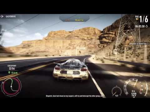 Need for Speed Rivals: Jammer only in Grand Tour (29 mile race)