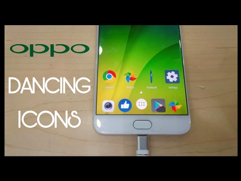 OPPO Phones Dancing Icons | Android Animated Icons