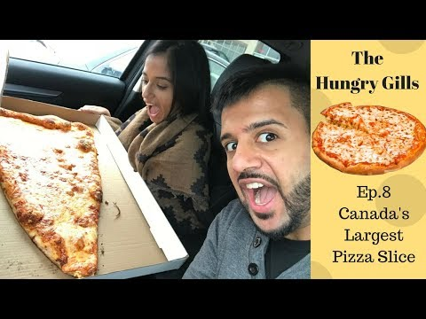 The Hungry Reviews: Ep.8 Canada's Largest Pizza Slice