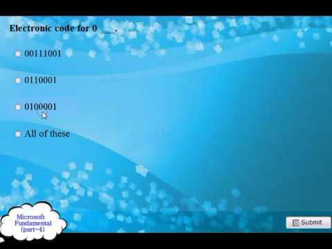 Microsoft Fundamental Practice 200720102013 2014 Exam Q and A pt 4
