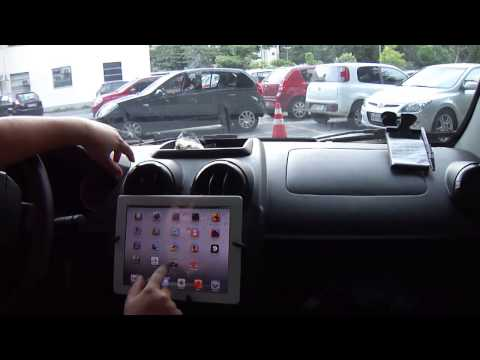 Wi-fi only iPad used as a car GPS