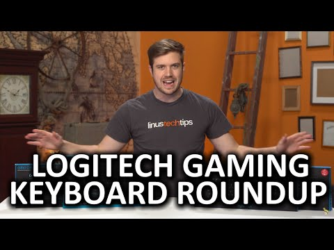 Logitech G810, G610, and G410 Keyboard Roundup - So many keyboards, so little time...