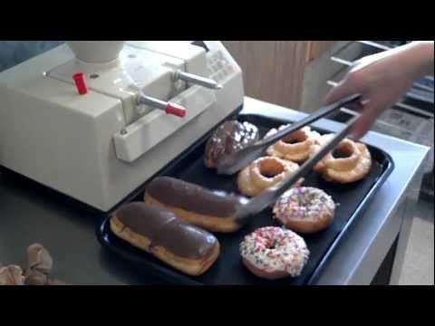 Jelly filled donut - how to get the jelly inside