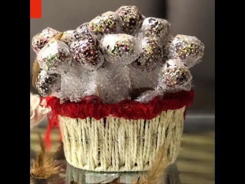 Chocolate pops| how to make cake pops?|3 ingredients cake pops| few minutes 2 us😍😋🌈