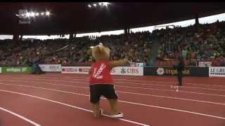 EM-maskotti (European Athletics mascot) 2014
