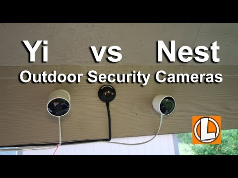 Nest Outdoor Cam vs Yi Outdoor  Camera - Comparison of price, features, video, subscription, issues
