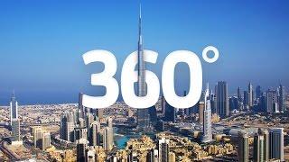 (4K) Travel to Dubai in 360 - World's Greatest Cities - Visit Dubai