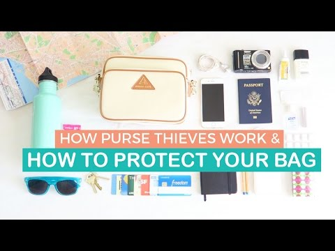 How Purse Thieves Work & How to Protect your Bag