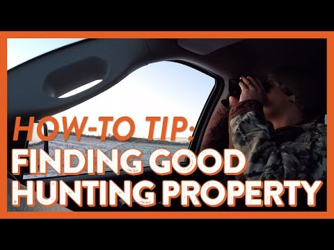 How to Find and Gain Access to Great Deer Hunting Properties